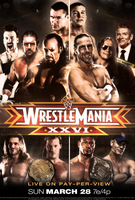WWE WrestleMania XXVI v2 by Rzr316