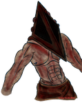 Pyramid Head by Living-Voodoo