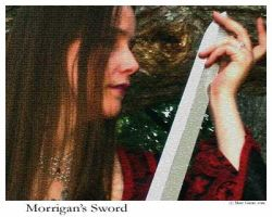 Morrigan's Sword by thebardsdotnet