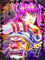 Perona x Absalom -Onepiece- by 0thefoolnever