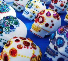Sugar Skulls by marva78