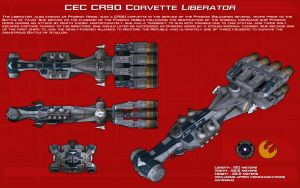 CEC CR90 Corvette Liberator ortho [New] by unusualsuspex