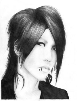 Aoi from the Gazette by iyka