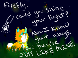 Firefly, Could You Shine Your Light? by ireniccircle