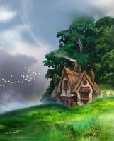 Granny Weatherwax's Cottage by bobgreyvenstein