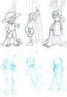 OP Bookmarks WIP by dragonsong12