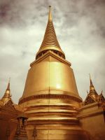 Thailand Golden Palace by Loserbabooser