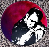 Mike Ness Stencil by punkdaddy74