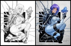 Ghost in the Shell by Franchesco