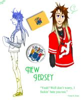 New Jersey - APH OC by M-u-n-c-h-y