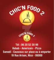 Chic'n'Food Carte Visite 2 by Fnayou