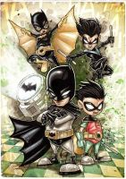BATMAN family Baby by Vinz-el-Tabanas