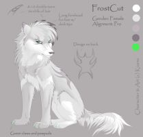 Character Sheet 3 - FrostCut by Kiarei-star