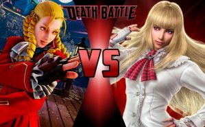 DEATH BATTLE: Karin Kanzuki vs Emilie De Rochefort by G-Odzilla