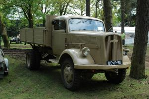 Opel Blitz German 3t Truck by BlokkStox