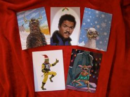 Star Wars Christmas Cards by McQuade