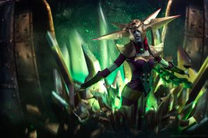 Blade Queen Lissandra by Baku-Project