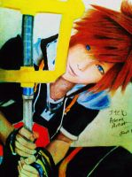 Sora cosplay drawing by frost1993