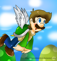 Flying koopa luigi by MariobrosYaoiFan12