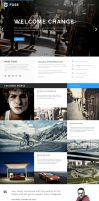 Fuse Portfolio Blog Theme by wpthemes