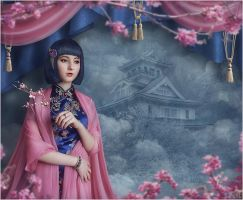 Japan Spring by inSOLense