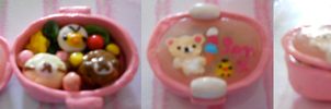 Rilakkuma Bento Box Rement by misoandramen