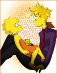 Teenager Bart, Lisa by Matsuri1128