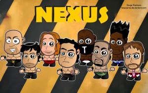 Chibi Nexus Wallpaper by kapaeme
