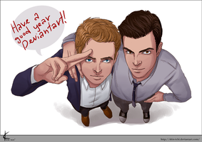 FanArt: Zach and Chris by Shin-ichi