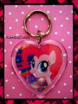 MLP: Pinkie Pie 02 Keychain by ObjectionSoS