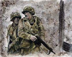 Band of Brothers - Carentan #4 by Jeanne-Lui