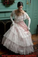 pink dress lift by eyefeather-stock