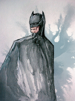 Batman Watercolors by ma6