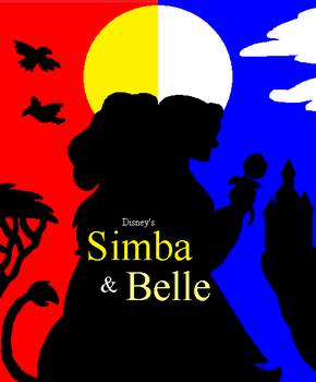 Simba and Belle by DinobotEd