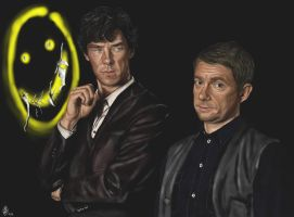 Sherlock and John by Bilou020285