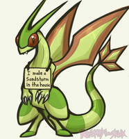 Flygon that's bad by Rosemary-the-Skunk