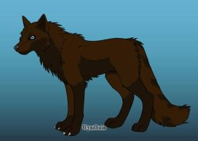 Wolf OC- Forest by Coraline15