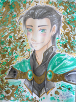 AV/Th: Prince Loki of Asgard by Aonabi