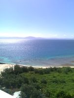 View from Amedee Lighthouse by monstatofu2011