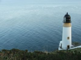 Maughold Lighthouse by Elyssandrel