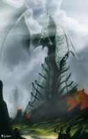 Mountian Dragon by Cycrone