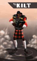 Yeh mocking meh kilt II by vilssonify