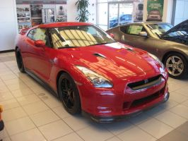 Nissan GT-R Red by granturismomh