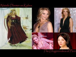 Natalie Dormer as Kylara by SWFan1977