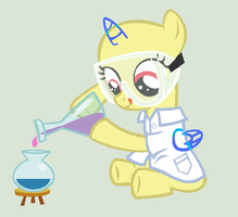 Science filly Pony Base by alari1234-Bases