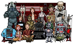 Sci Fi Secondary Class Photo by artildawn