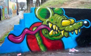 Rat Fink by RietOne