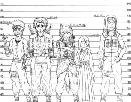 Height Comparison and reference - J3F by Hinata0321