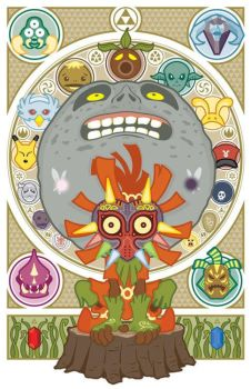 Majora's Mask by DJWhite0692