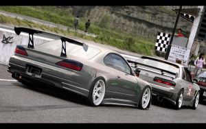 Nissan Silvia S15 Time Attack by ATC-Design